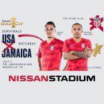 2019 concacaf soccer usa jamaica - Nissan Stadium