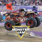2019 monster jam square - Nissan Stadium
