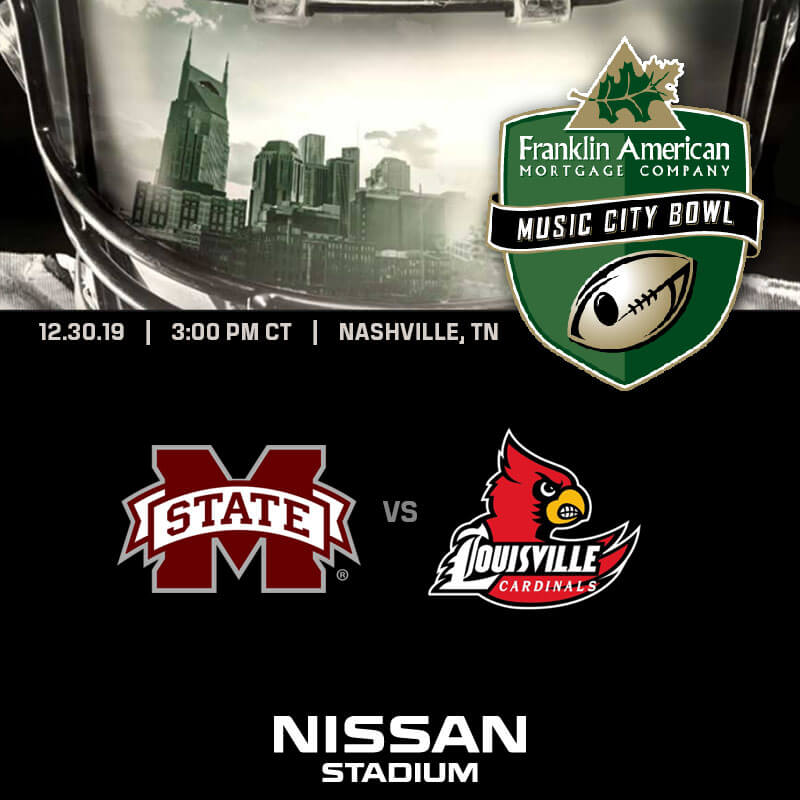 2019 music city bowl - Nissan Stadium