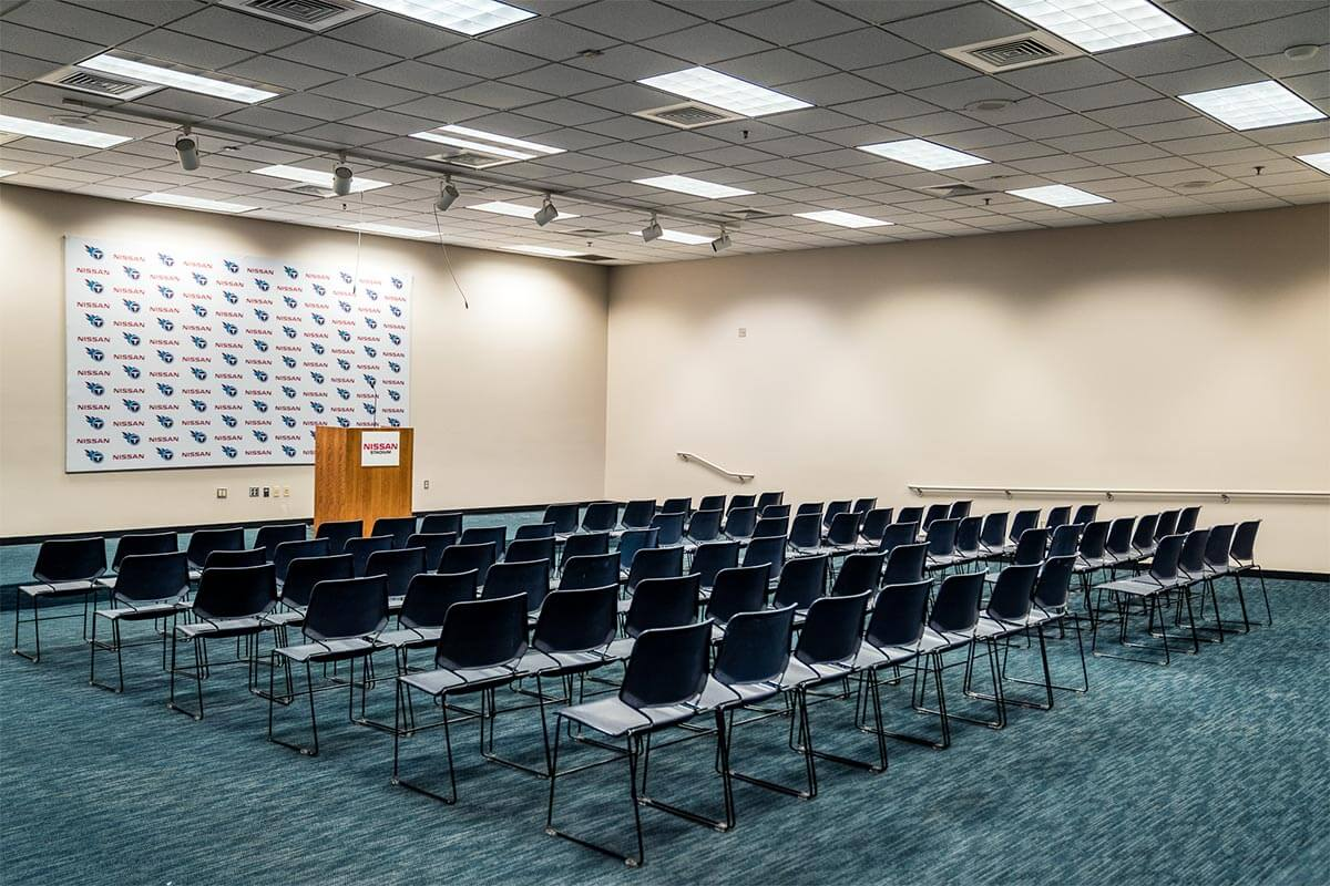 Post Game Interview Room