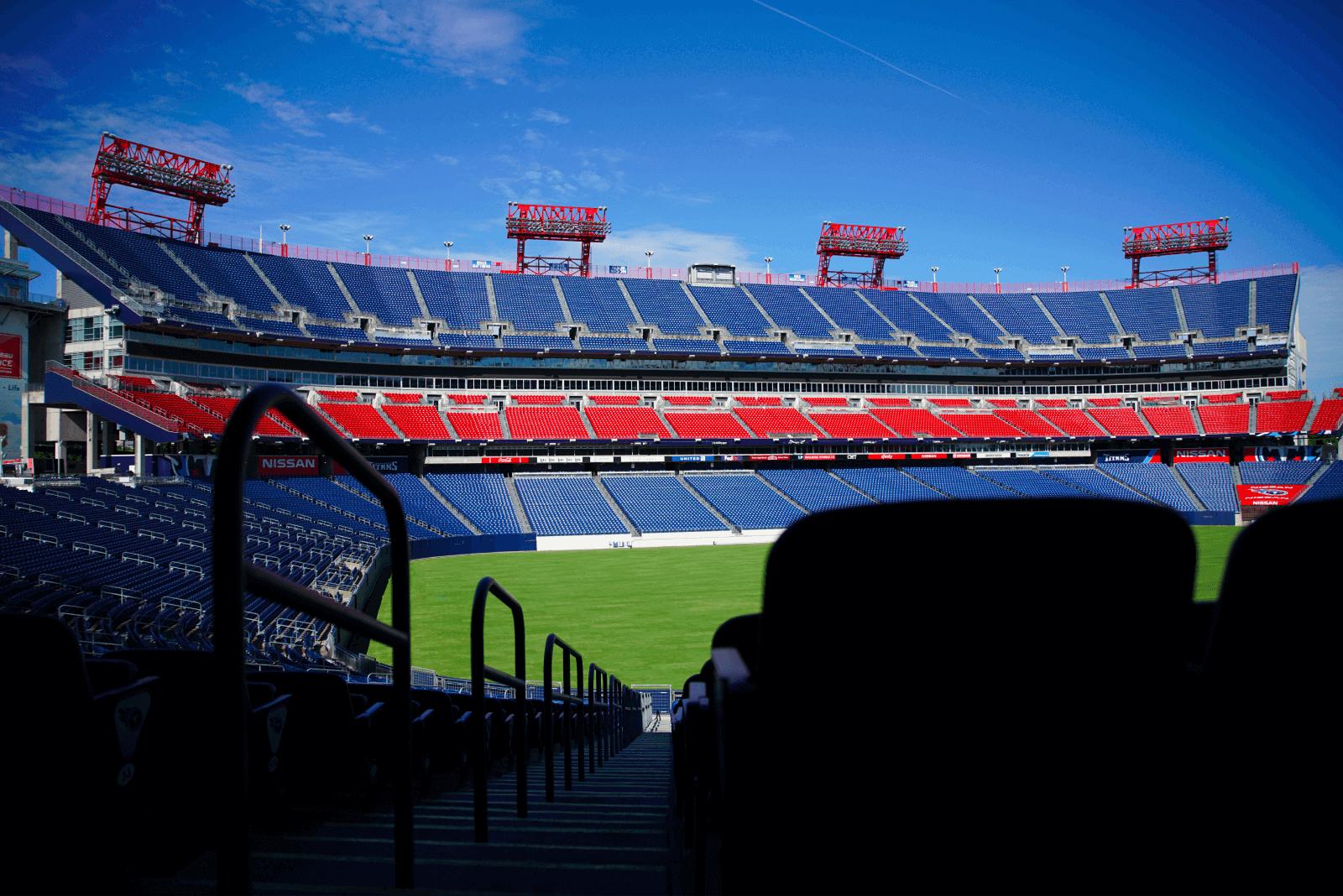 Nissan Stadium Field, Nashville Tennessee