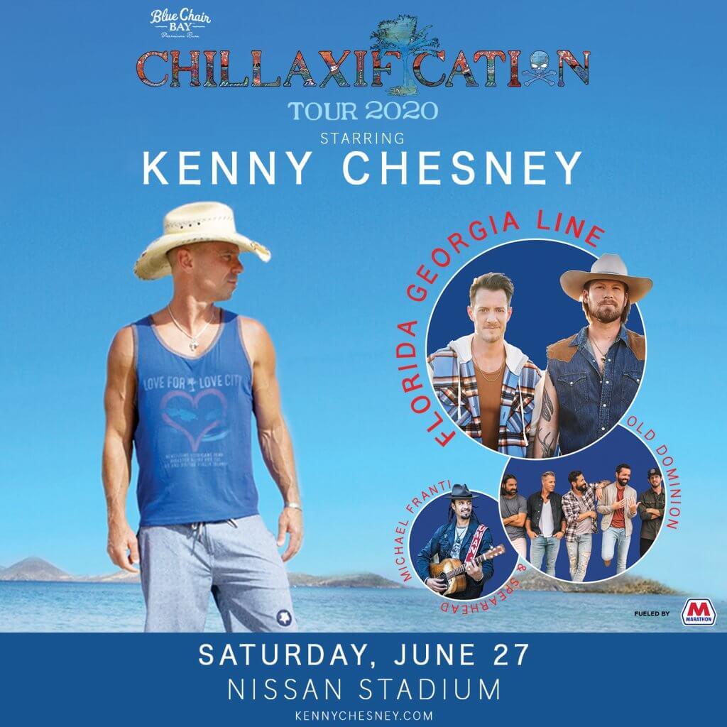 kenny chesney 2020 nashville 1500×1500 - Nissan Stadium