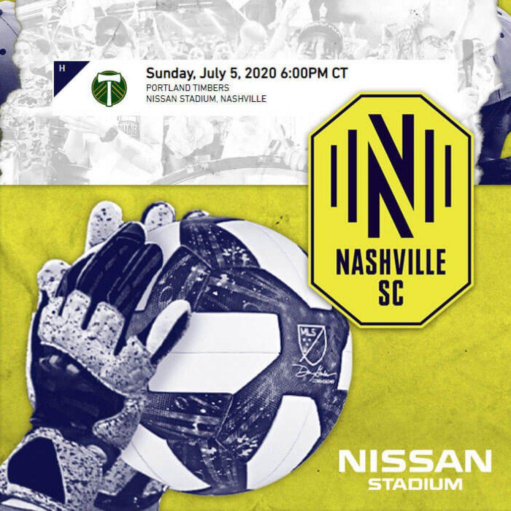 190705 nashvlle soccer club - Nissan Stadium