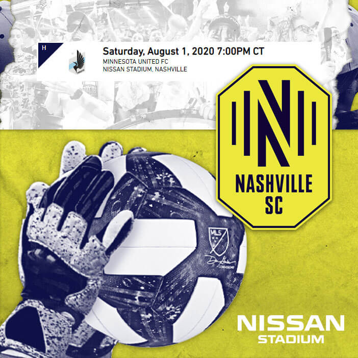 190801 nashvlle soccer club - Nissan Stadium