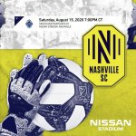 190815 nashvlle soccer club - Nissan Stadium