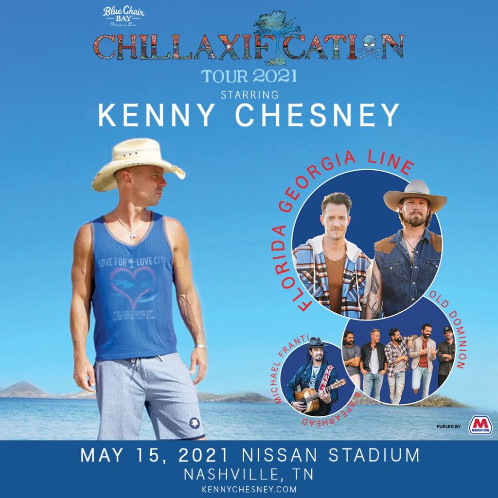 kenny chesney 2021 1200×1200 0515 nashville - Nissan Stadium