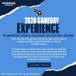 2020 titans gameday experience ns - Nissan Stadium