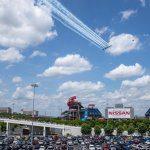 blue angels flyover nashville tn 2020 - Nissan Stadium