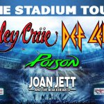 motley crue def leppard poison joan jett stadium tour 2020 - Nissan Stadium