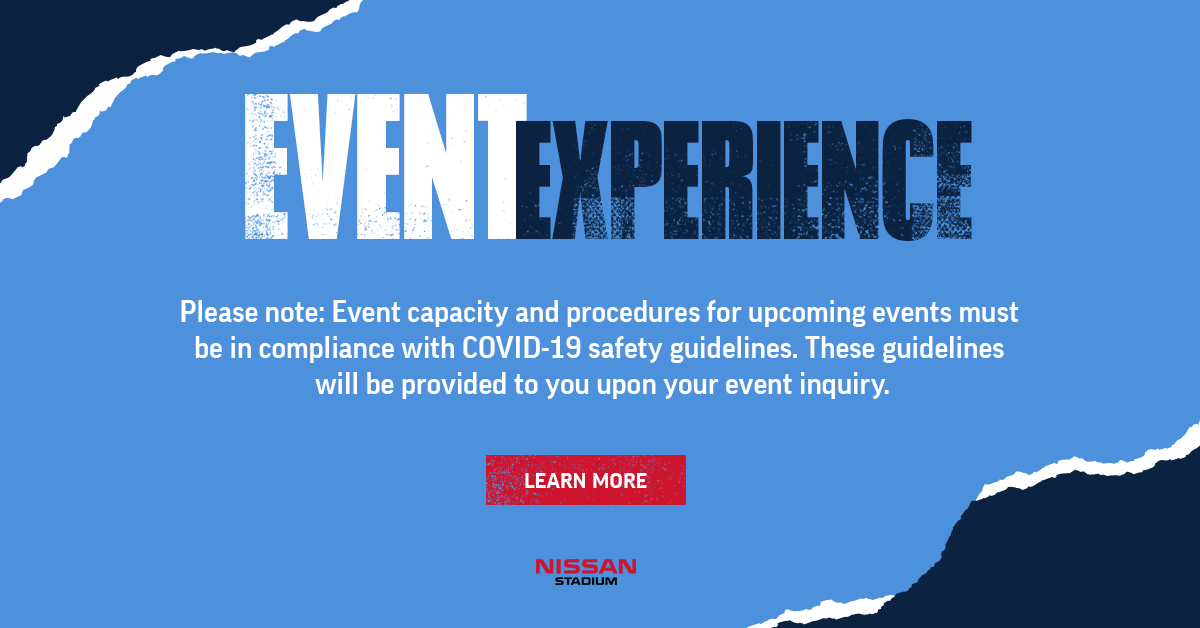 nissan stadium event spaces pop up - Nissan Stadium