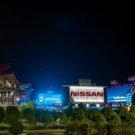 stadium blue - Nissan Stadium