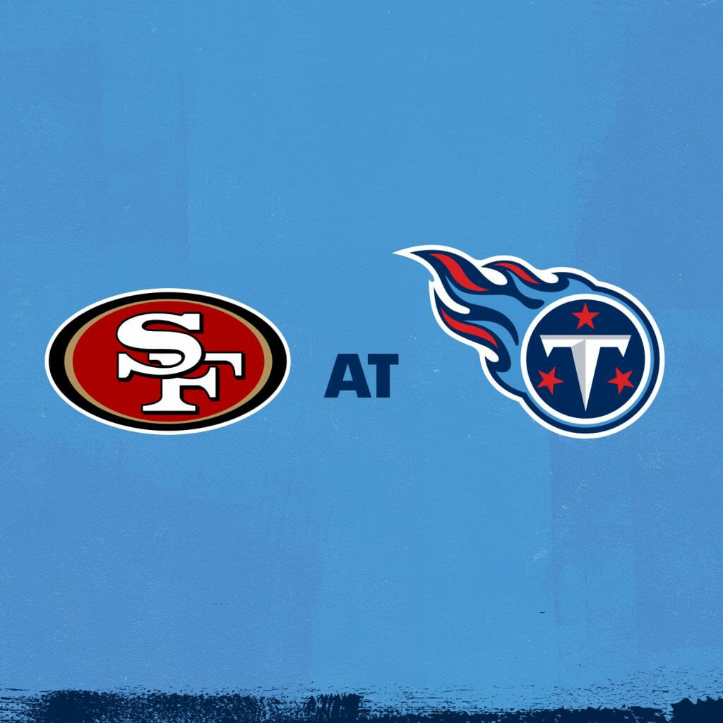 49ers at Titans