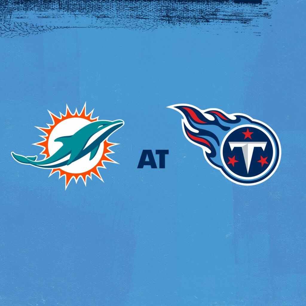 Dolphins at Titans