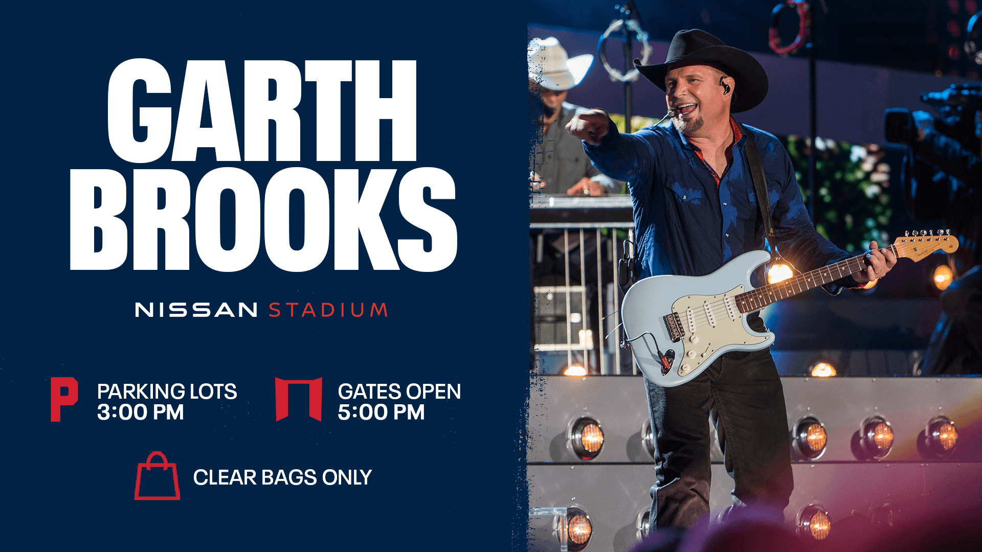 Garth Brooks - Nissan Stadium